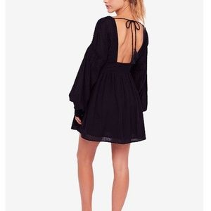 Free People Dresses - NWT Free People Open Back Mini A-Line Dress